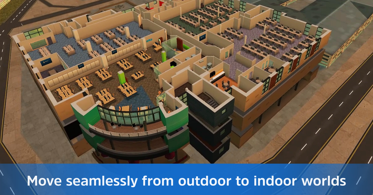 Create Virtual Outdoor to Indoor Worlds with Updated WRLD Unity SDK